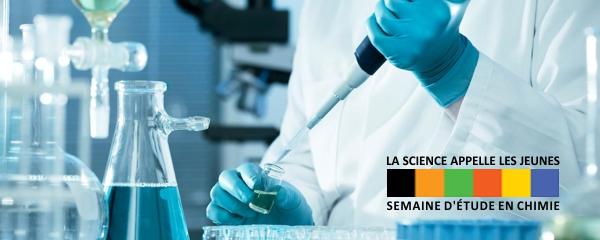 Semaine d'étude 2018 en chimie, biochimie et science des matériaux