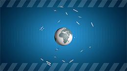 satélites en orbite