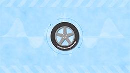 illusion d'une roue qui tourne à l'envers